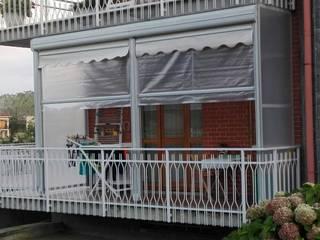 Tende Veranda Estate Inverno a Torino e Provincia Tende da Sole Torino Finestre & PorteTende Tessuti Trasparente