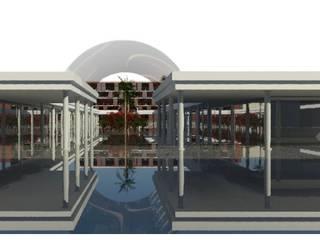 Centro comercial: Espaços comerciais  por Luciana Ribeiro Arquiteta