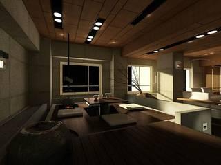 新店日式禪風舒適居所 鼎爵室內裝修設計工程有限公司 客廳