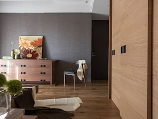 室內設計的牆壁材質與色系搭配:  牆面 by 宸域空間設計有限公司