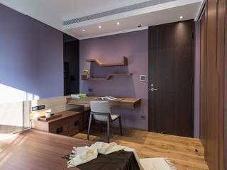 室內設計的牆壁材質與色系搭配 宸域空間設計有限公司 牆面