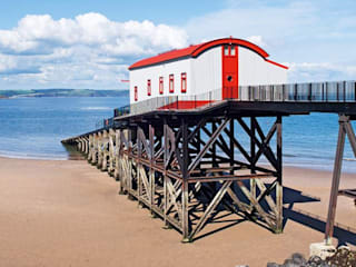The Old Tenby Lifeboat Station by Natralight Modern