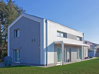 Marlegno Modern houses Wood White
