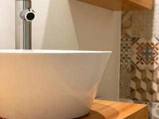 Baños de estilo rústico de Estudio Qpi Rústico