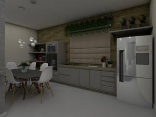 Cozinha:   por Bruna Schumacher - Arquitetura & Interiores