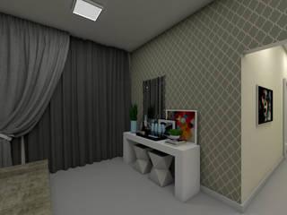 Aparador na sala:   por Bruna Schumacher - Arquitetura & Interiores