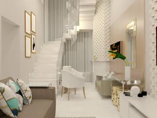 Sala Cobertura Duplex Salas de estar clássicas por Malu Zanatto Arquitetura Clássico