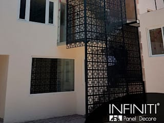 Infiniti Panel Decore Commercial Spaces โลหะ Black