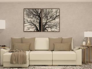 Sala Residência IR Salas de estar clássicas por Malu Zanatto Arquitetura Clássico