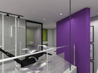 Lumia Centro Ontológico : Clínicas de estilo  por Oblicua arquitectura y diseño sas