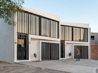Casas Duplex: Casas unifamiliares de estilo  por HMJ Arquitectura