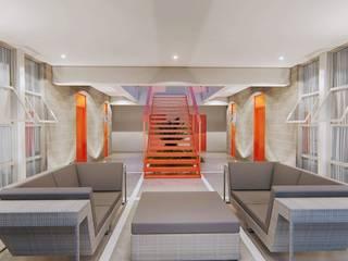 DEPARTAMENTOS BACATETE Balcones y terrazas modernos de CREA arquitectos Moderno