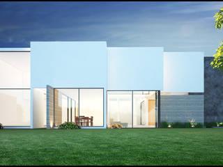 Modern houses by Geometrica Arquitectura Modern