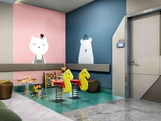 VERO CONCEPT MİMARLIK – Tınaztepe Galen Hastanesi - Çocuk Polikliniği:  tarz Hastaneler