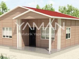 Prefabrik Ev (Yaman Prefabrik) – 62 m2 Prefabrik Ev:  tarz