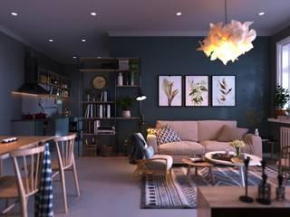 Living room by Macitler Mobilya, Modern