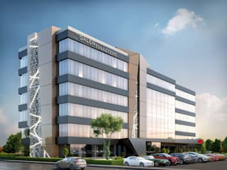 Tınaztepe Galen Hastanesi Modern Hastaneler VERO CONCEPT MİMARLIK Modern