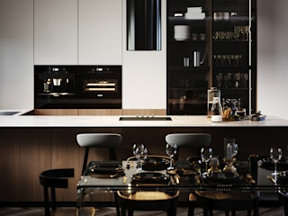 Built-in kitchens by STONE design