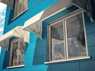 Tende da sole a Cappottina con Tessuti Parà Tempotest a Torino e Provincia Tende da Sole Torino Finestre & PorteTende Tessuti Bianco
