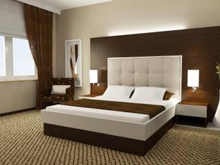 Otel Dekorasyonları Modern Yatak Odası Macitler Mobilya Modern