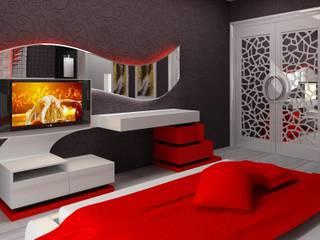 Otel Dekorasyonu Modern Yatak Odası Macitler Mobilya Modern