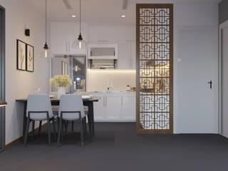 Otel Odası Projesi Modern Oturma Odası Macitler Mobilya Modern