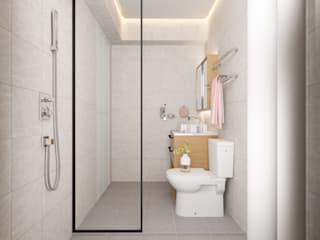 Compassvale Lane:  Bathroom by Swish Design Works