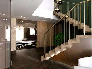 Apartment 7, Noida by Design Concept creative studio Modern