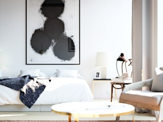 The Loft:  Living room by Design Concept creative studio