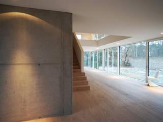 Haus am Petzinsee Moderne Wohnzimmer von wolff:architekten Modern