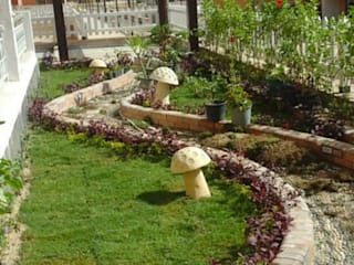 akary Garden Accessories & decoration Tiles White
