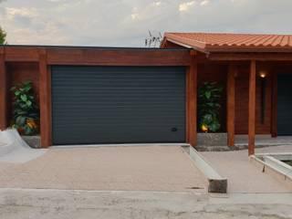 T2, com Garagem + Grill - Casa em Madeira - Tarouca por Breeze House Rústico