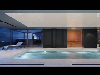 Projekt Wnętrz Domu: styl , w kategorii Basen zaprojektowany przez BILAR