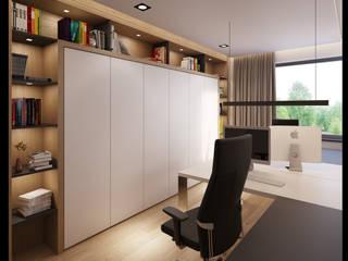 Projekt Wnętrz Domu: styl , w kategorii Domowe biuro i gabinet zaprojektowany przez BILAR