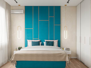Bedroom by CUBE INTERIOR, Scandinavian
