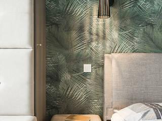 Habitaciones de estilo  por KODO projekty i realizacje wnętrz, Tropical