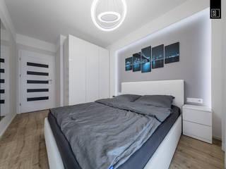 KAPSUŁA CZASU: styl , w kategorii Sypialnia zaprojektowany przez KODO projekty i realizacje wnętrz