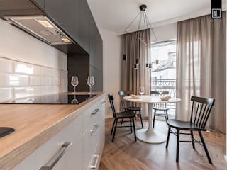 Salle à manger de style  par KODO projekty i realizacje wnętrz