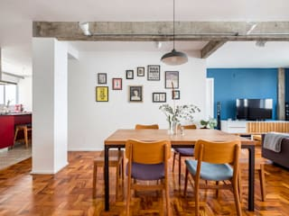 Dining room by INÁ Arquitetura,