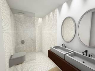 GomesAmorim Arquitetura Modern bathroom