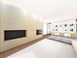 GomesAmorim Arquitetura Salas de estilo moderno