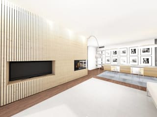 GomesAmorim Arquitetura Modern living room