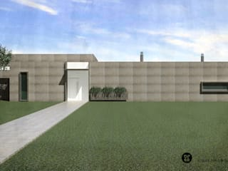 ATELIER OPEN ® - Arquitetura e Engenharia Villa Eisen/Stahl Braun
