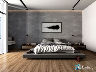 VILLA ROSA TORO Dormitorios de estilo minimalista de Studio17-Arquitectura Minimalista