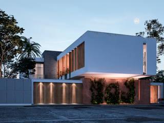 VILLA ROSA TORO Casas de estilo minimalista de Studio17-Arquitectura Minimalista
