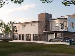 VillaSi Construcciones Moderne Häuser