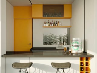 VILLA CUBA Bodegas de estilo minimalista de Studio17-Arquitectura Minimalista