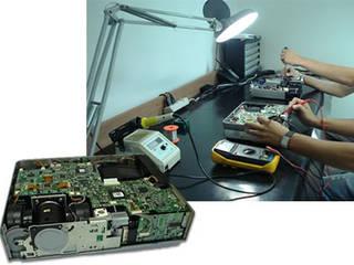 Reparação projetor:   por Wolff & Silva Soluções Audiovisuais