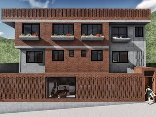 Rumah keluarga besar oleh Minkarq. Arquitectura y construcción, Industrial