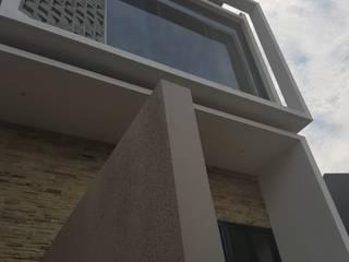 Rumah Janur asri VI kelapa gading: Rumah oleh qic arsitek, Minimalis